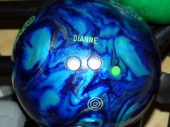 Dianne's New Bowling Ball
