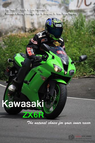 kawasaki 08' ZX6R