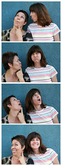 Fauxtobooth: Kat & Heather