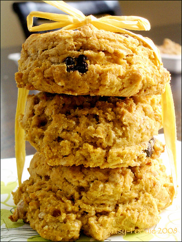Pumpkin Scone Tower