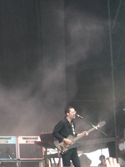 We Are Scientists, Mainstage Saturday (electriccandles) Tags: 2008 readingfestival wearescientists chriscain
