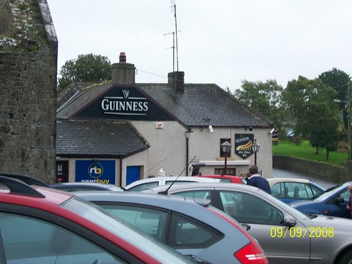 Ireland - - Holy Cross Abbey - pub next door - check