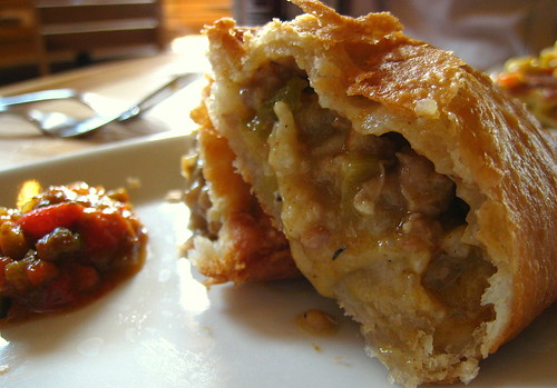 Oyster and Meat Pie