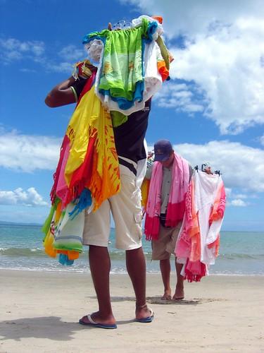 Vendedores de la playa - Canasvieiras - Florianopolis