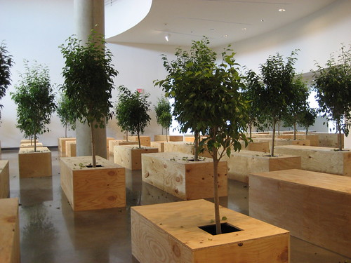 """""""Ex It"""" by Yoko Ono at American University Museum 9/13/08 - 8 by you."""