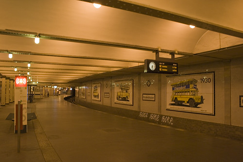 U-Bhf Klosterstrasse and the tunnel