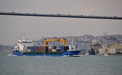 """Emilie K"", Bosphorus, Istanbul, Turkey, 20 September 2008 (Ivan S. Abrams) Tags: coastguard docks turkey boats nikon mediterranean ataturk ships istanbul getty lighters nikkor shipping tugs straits ports nikondigital blacksea gallipoli ferries harbors watercraft bosphorus tugboats gettyimages vessels freighters tankers harbours cruiseships barges smrgsbord warships destroyers ferryboats navyships speedboats frigates internationaltrade classicboats seaofmarmara navies containerships portcities navalvessels bulkcarriers nikonprofessional chokepoints onlythebestare boatnerd ivansabrams trainplanepro nikond300 shippinglanes internationalshipping sealanes ivanabrams worldwideshipspotters servicecraft gettyimagesandtheflickrcollection feriobots coastalfreighters marinecommerce internationalcommerce maritimecommerce seaportsseaportmaritime crossroadsasiaeuropebosforbogazasia minorboxesintermodal tugobats copyrightivansabramsallrightsreservedunauthorizeduseofthisimageisprohibited tucson3985gmailcom copyrightivansafyanabrams2009allrightsreservedunauthorizeduseprohibitedbylawpropertyofivansafyanabrams unauthorizeduseconstitutestheft thisphotographwasmadebyivansafyanabramswhoretainsallrightstheretoc2009ivansafyanabrams abramsandmcdanielinternationallawandeconomicdiplomacy"