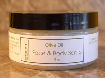 Olive Oil Face & Body Scrub