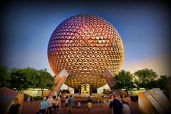 """We call it EPCOT"" (Matt Pasant) Tags: visions epcot 1982 magic illuminations siemens wed mickey explore dreams wishes mickeymouse wdw waltdisneyworld figment walt geodesicdome leavealegacy spaceshipearth wdi judidench dreamfinder tomorrowschild experimentalprototypecommunityoftomorrow floridaproject topazadjust"