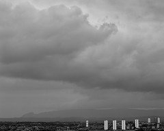 Nature is big / Glasgow, Scotland (YYL Photography) Tags: city sky urban blackandwhite bw 6 white black 6x6 mamiya film blanco nature rain weather clouds rural landscape scotland town blackwhite highlands noir noiretblanc kodak britain glasgow country negro rangefinder edge mamiya6 notdigital bianco blanc nero biancoenero bw400cn negroyblanco 150mm bwartaward yylphotography nprtopography