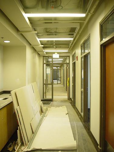 A third floor hallway