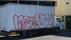 (butal shit) Tags: color up truck out graffiti los paint angeles lot can spray line ur graff piece ventura throw encino hallow laree struh