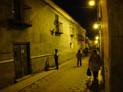 Potosi by night...