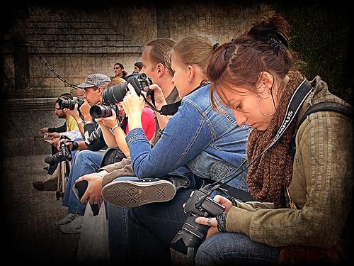 El loco mundo de la fotografía
