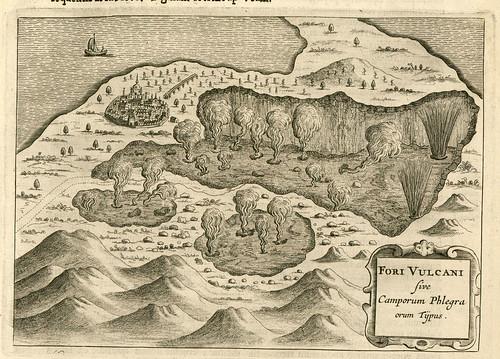 015- pag 224- Mundus Subterraneus- Tipos de fumarolas y fuegos volcanicos
