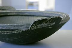 Recycling von Pneus und Reifen (steffi's) Tags: tire recycling tyre reciclar pneus schale reifen neumatico gefss gewerbemuseumwinterthur recyclingprodukte