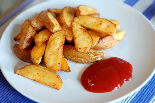 Potato wedges for kids