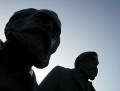 Marx-Engels-Forum (CBKai) Tags: berlin germany forum republik east communism marx karl fernsehturm der palast socialism friedrich engels ostdeutschland sozialismus ostberlin kommunismus