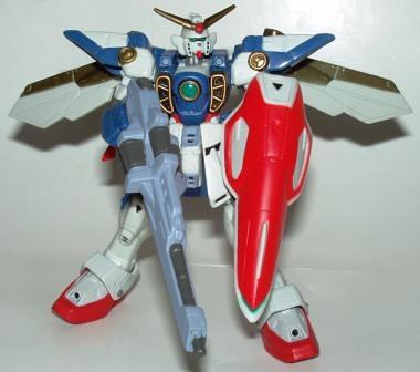 MS Wing Gundam (Gold) b by you.