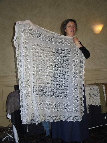 Estonian Lace retreat session