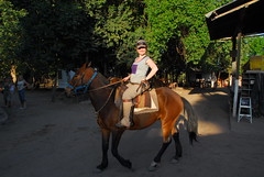 Riona on her Horse