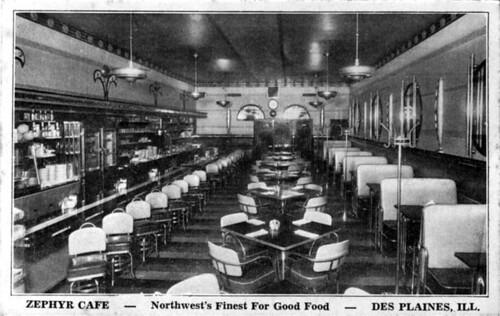 1939 Zephyr Interior