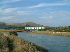 377 crosses river approaching Southease & Rodmell (rcarpe2) Tags: