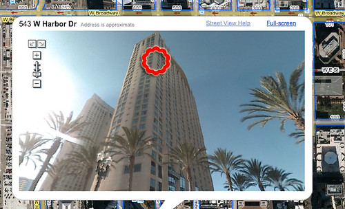 San Diego Trip: Manchester Grand Hyatt - my room (Google)