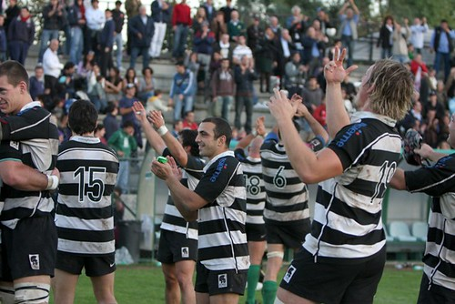 Rugby Roma in festa