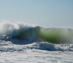 wind over tide (khanrizzi) Tags: ocean motion water waves atlantic montauk