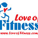 Love of Fitness Logo Design