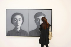 Comrade (PetrolHeadBC) Tags: london contemporaryart chinese comrade zhangxiaogang therevolutioncontinuesnewchineseartssaatchigallery