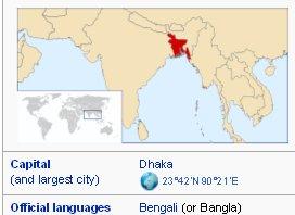 Bangladesh - wikipedia map