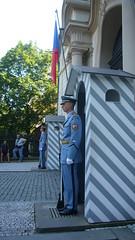 Guards at the Prague Castle