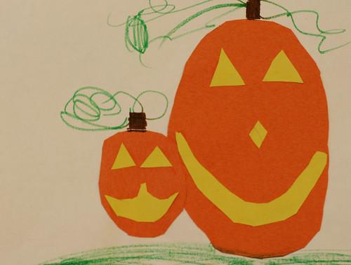 Makayla's pumpkins