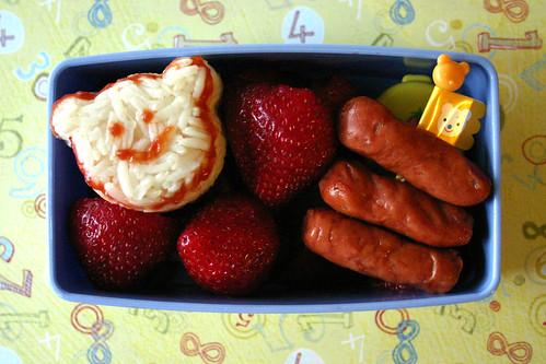 Preschool Bento #107: November 19, 2008