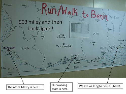 Walk to Benin