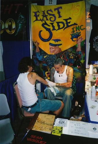 Sean Vasquez at San Diego Tattoo Convention 1994 by HeadOvMetal