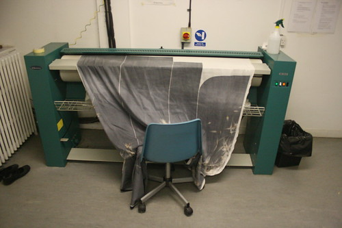 Creating the Dandelion Kimono: Ironing