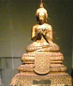 Una statua di probabile origine indiana
