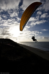 Being For The Benefit Of Mr. Kite (Wouter de Bruijn) Tags: kite nederland zeeland parasail paragliding parasailing zoutelande