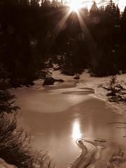 Frozen Tarn - or Glenda?