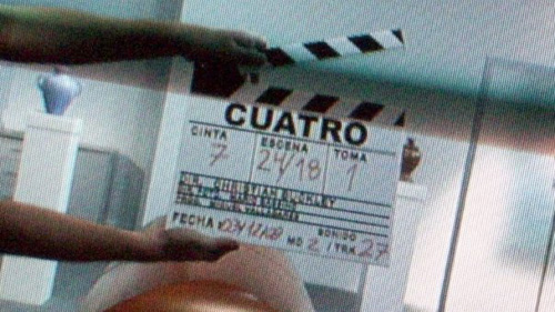 "Rodaje de ""Cuatro"""