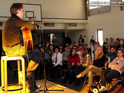 Joe Bonamassa - Blues in the Schools program (4 December 2008 Winterswijk, Netherlands)