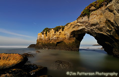 It's Beach Arch by Moonlight - Santa Cruz, California (Jim Patterson Photography) Tags: california longexposure santacruz seascape landscape nikon arch fullmoon moonlight nikkor 1224mm startrails d300 itsbeach landscapephotography slowwater inspiredbylove oceanscape beneathblueseas beneathblueseascom jimpattersonphotography jimpattersonphotographycom seatosummitworkshops seatosummitworkshopscom