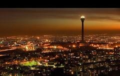 Tehran at night (IranMap) Tags: tower night iran dar tehran milad miladtower shab top20travelpix
