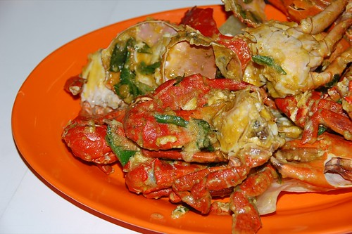 salted eggs crab