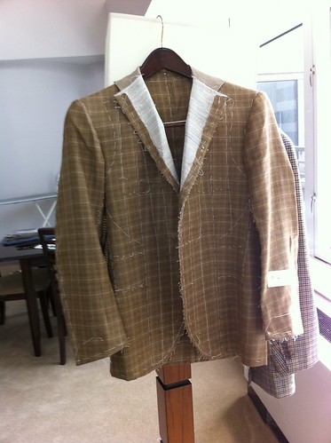 Napoli su misura silk-linen jacket 01
