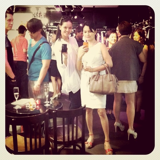 At D&G last night with @TheBagHag