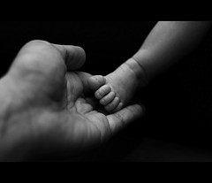 baby (AO-photos) Tags: blackandwhite baby foot nikon noiretblanc newborn d300s